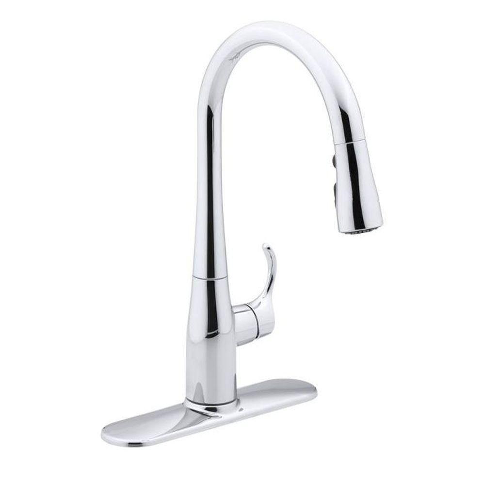 Kohler K-597-CP Simplice Kitchen Faucet One Size