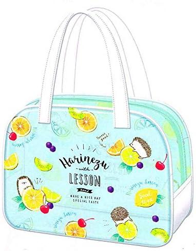 プールバッグ 女の子 向け ボストン型 サマーバッグ はりねずみ 小さめ 低学年 小学生 小学校 コンパクト クーリア