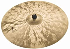 """Play the SABIAN 22"""" HHX Legacy Heavy Ride and you'll immediately notice that stick articulation remains semi-dry and crisp over a cushion of warm tone. A simply gorgeous heavy ride from SABIAN. Until HHX, it was impossible to project darkness..."""