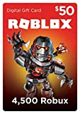 Video Games : Roblox Gift Card - 4,500 Robux [Online Game Code]