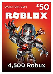 Take your Roblox experience to the next level. Use Roblox Gift Card Digital Codes to receive Robux (the virtual currency on Roblox) and get additional in-game content or upgrade your avatar with cool items.   About Roblox   Roblox's m...