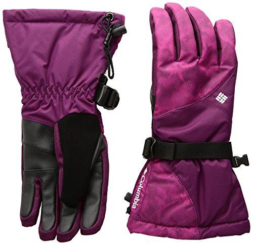 Columbia Women's Whirlibird Gloves, Dark Raspberry Camo, Small