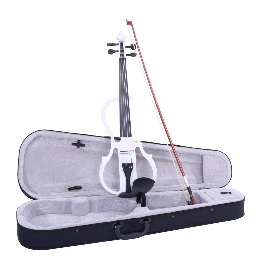 4/4 Case Bow Rosin Violin Electric Silent Headphone Connecting Line V-0 by Aromzen (Image #4)