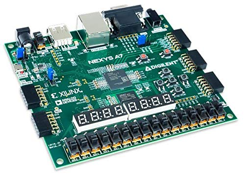 Digilent Nexys A7-100T: FPGA Trainer Board Recommended for ECE Curriculum by Digilent