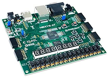 Digilent Nexys A7-100T: FPGA Trainer Board Recommended for