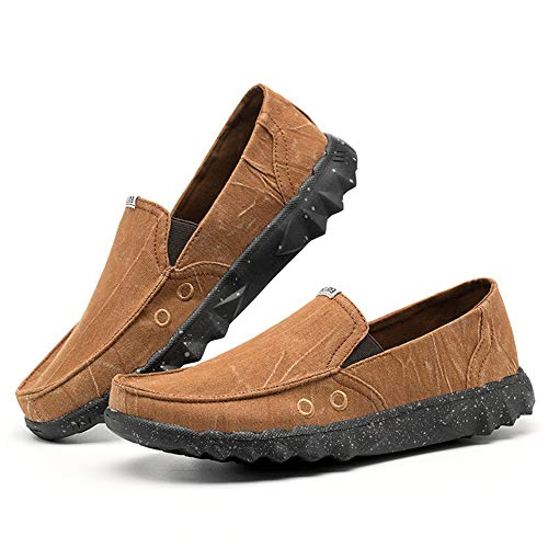 color Para Plimsolls Shoes Alpargatas En Slip Eu Marrón Yacht Azul 39 Tamaño Durable Pumps Hombre Casual Ywqwdae Soft xUqS7wxC