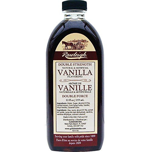 Double Strength Vanilla - 12 oz - by WT Rawleigh