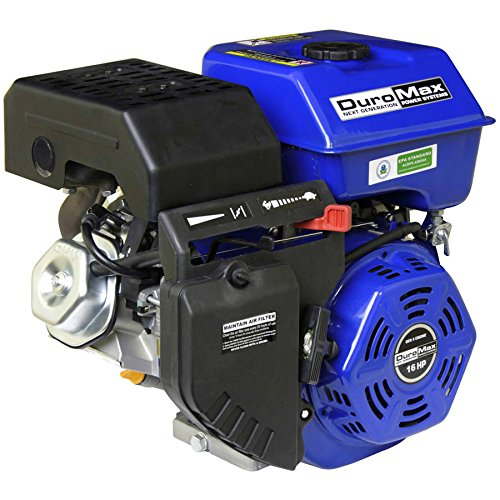 DuroMax 16 Hp, 1 in. Shaft Recoil Start Engine - XP16HP (420cc Engine)
