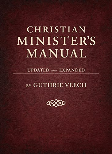 Christian Minister's Manual—Updated and Expanded Deluxe Edition for $<!---->