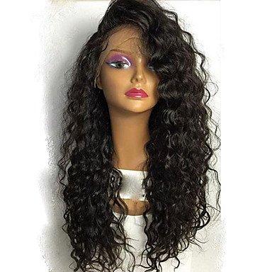 7 A Virgen Pelo Humano peluca Kinky rizado para mujer negro ...