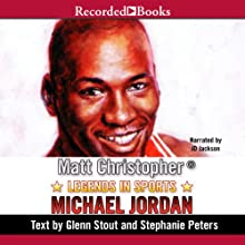 Legends in Sports: Michael Jordan Audiobook by Matt Christopher Narrated by J. D. Jackson