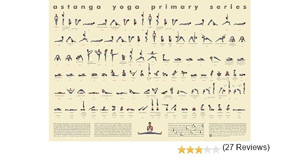 Workbook customizable handwriting worksheets : Amazon.com: 112 Posture Yoga Chart - Astanga Vinyasa Primary ...