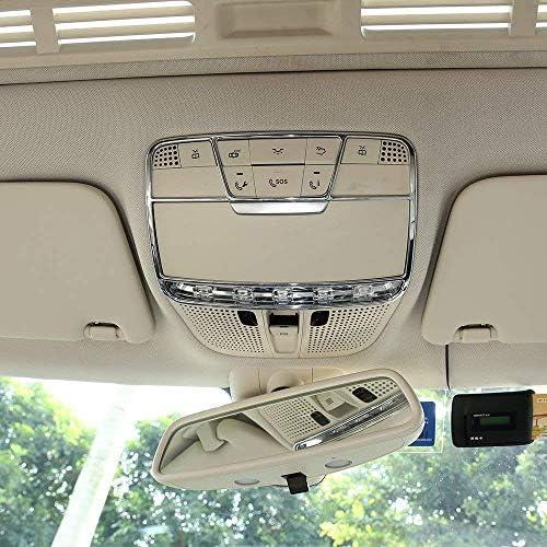 Abs Kunststoff Chrome Front Leselicht Dekorrahmen Trim Cover Auto Zubehör Für C Klasse W205 Glc X253 E Klasse W213 Einweg Auto
