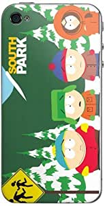 Zing Revolution MS-SPRK150133 South Park - Street Cell Phone Cover Skin for iPhone 4/4S by icecream design