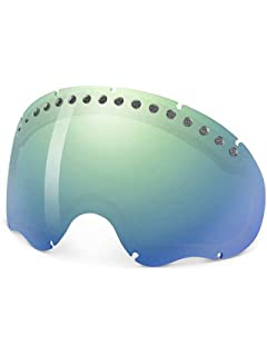 how to change glass in oakley goggles  oakley a frame goggle replacement lens emerald iridium, one size