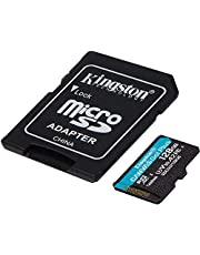 Kingston GO! Plus Works for Nintendo Switch Lite 128GB MicroSDXC Canvas Card Verified by SanFlash. (170MBs Works with Kingston)
