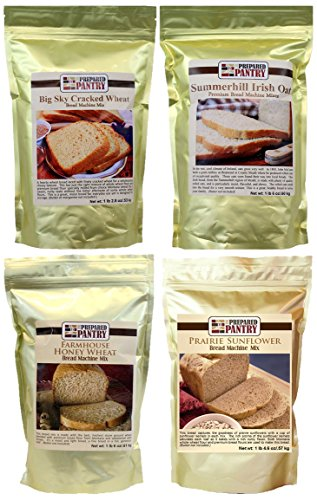 The Prepared Pantry Heartland Collection of Bread Mixes, 83.4 Ounce