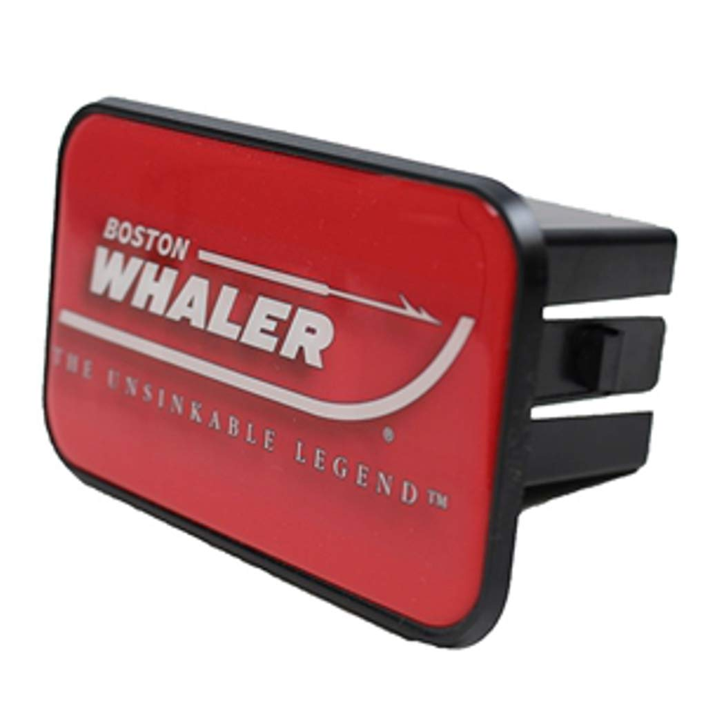Boston Whaler Trailer Hitch Cover Red