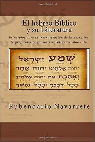 Book El hebreo Biblico y su Literatura
