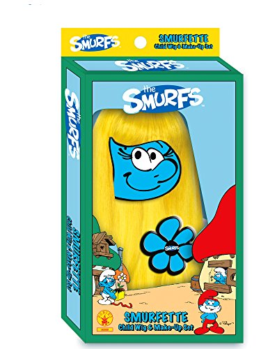 The Smurfs, Child's Smurfette Wig and Make Up Set