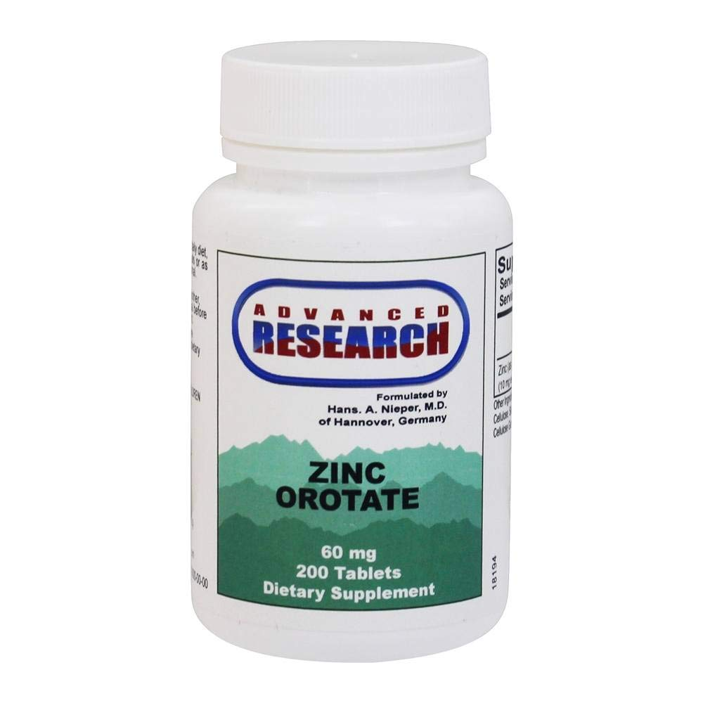 Zinc Orotate 60 mg 200 Tabs