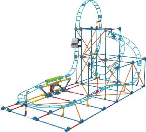 Amazon.com: K'NEX Crossfire Chaos Roller Coaster Building Set Amazon ...