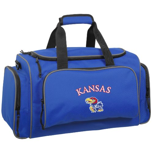 wallybags-kansas-jayhawks-21-inch-collegiate-duffel-royal-blue-one-size