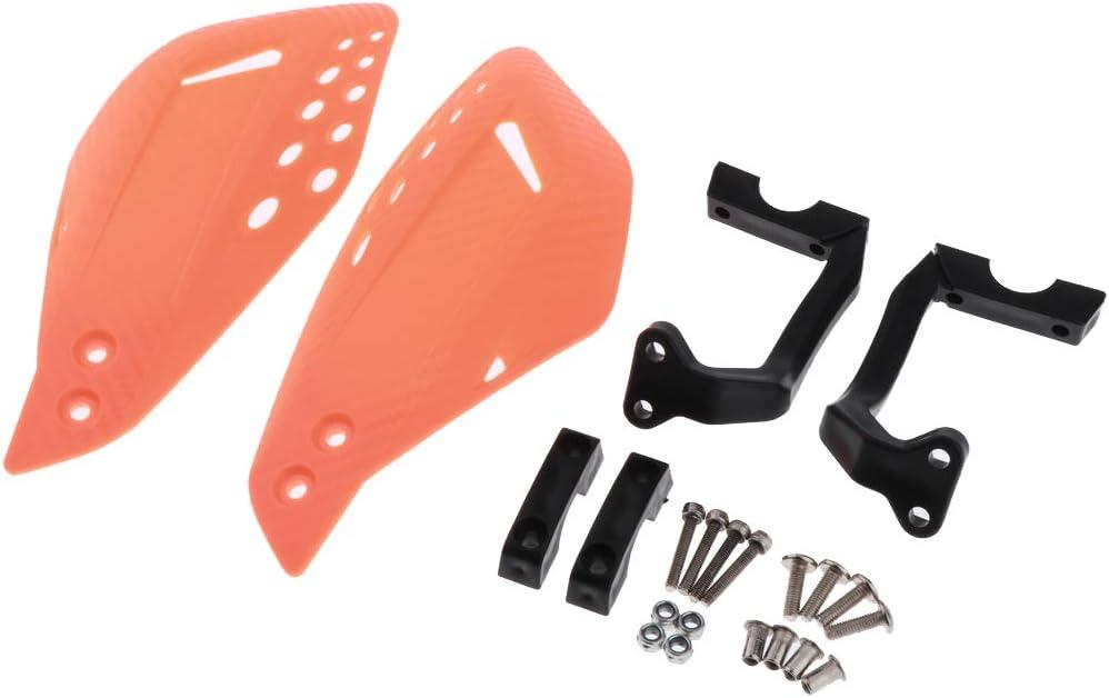 Blau perfk 2er Motorrad Handprotektoren Handsch/ützer Handschutz Protektoren aus ABS Schlagfestem Kunststoff f/ür 22mm 7//8 Lenker