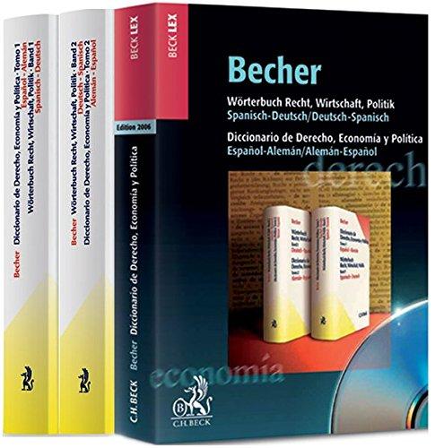 Wörterbuch Recht, Wirtschaft, Politik Kombipaket Buch und CD-ROM Edition 2007