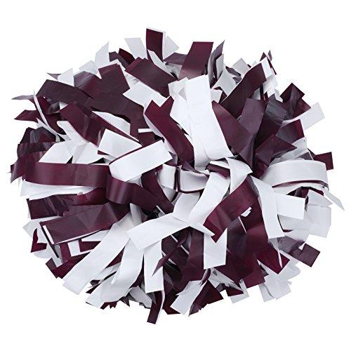 (ICObuty Plastic Cheerleading Pom pom 6 inch 1)