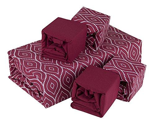 Luxurious Wrinkle Egyptian Comfort Burgundy