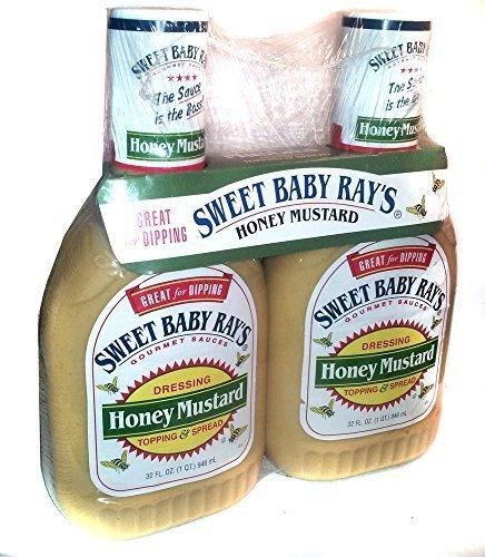Sweet Baby Ray's Honey Mustard Gourmet Sauce Dressing & Topp