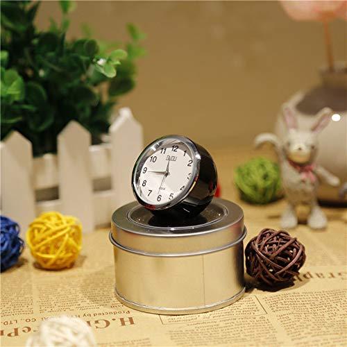 Sinchi Kuzo Car Mini Quartz Watch Pointer Clock Digital for Auto Decoration Time Clock high ()