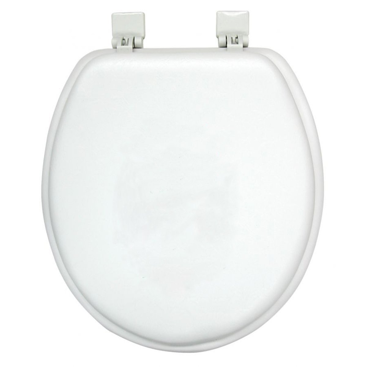 Ginsey Home Solutions Soft Toilet Seat - Padded for Extra Comfort - For Standard Toilets - Includes All Necessary Components for Installation - White by Ginsey