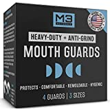 M3 Naturals Heavy Duty Mouth Guards for Teeth