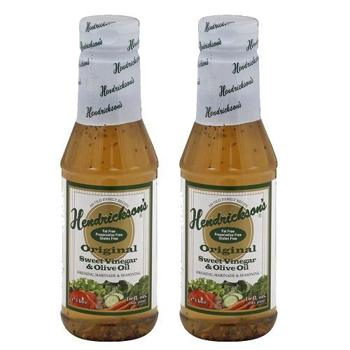 Hendricksons Original Salad Dressing - 2 Pack with Recipe Booklet