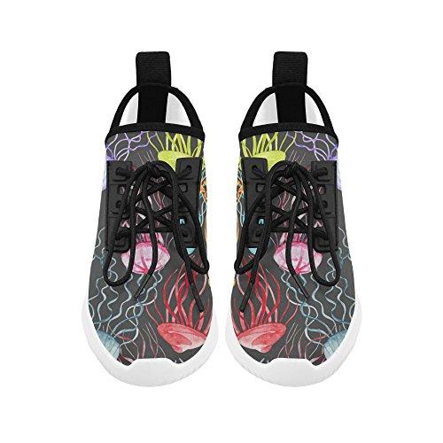 Interestprint Prachtige Vlinder Op Jeans Dolfijn Ultra Lichte Loopschoenen Voor Vrouwen Octopus