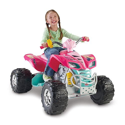 Power Wheels Hot Wheels Barbie Kawasaki KFX