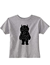NorthStarTees Where The Wild Things are Toddler Love You So T-Shirt