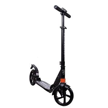 SCOOKTNE Scooter Plegable portátil con Rueda Grande para ...