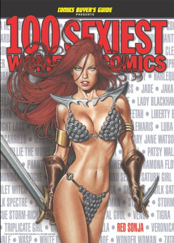 [100 Sexiest Women in Comics (Comics Buyer's Guide)] (Sexiest Superheroes)