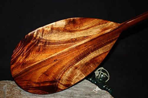 Tikimaster Curly Hawaiian Koa Paddle 50