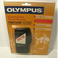 Olympus Pearlcorder S700 Microcassette Voice Recorder