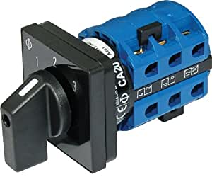 AC Rotary Switch - OFF + 3 Positions 120V AC 30A