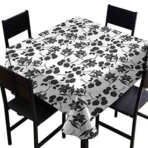 Square tablecloths are available in a variety of colors,60