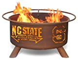 Patina Products F237, 30 Inch North Carolina State Fire Pit