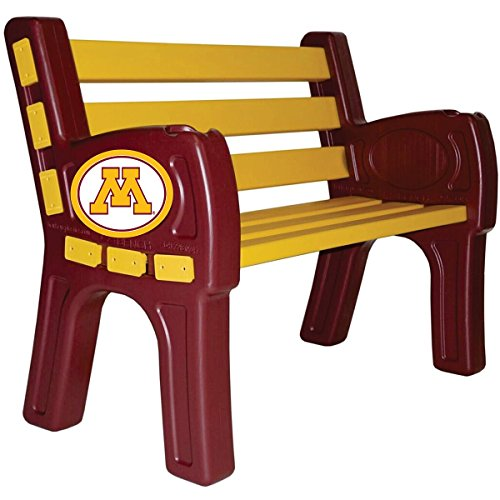 Imperial INTERNATIONAL MINNESOTA GOLDEN GOPHERS PARK BENCH by Imperial