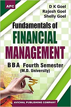 Fundamentals of Financial Management Semester IV of BBA (MDU)