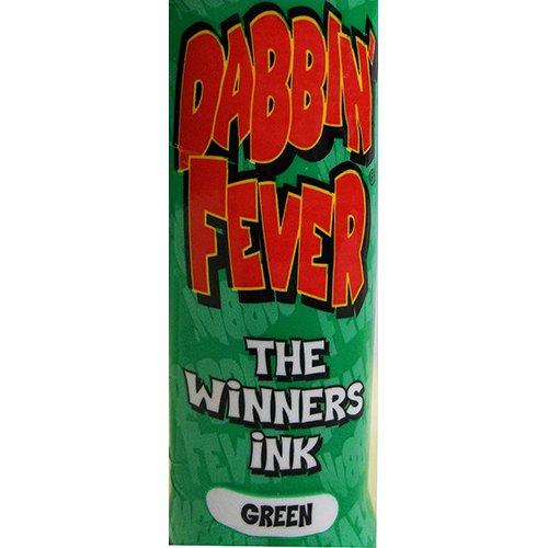 One Dozen 3oz Dabbin' Fever Green Bingo Dauber