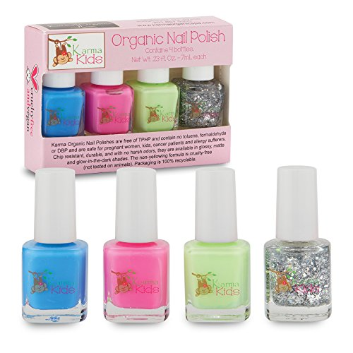Karma Kids Box Set No. 1 - Nail Polish; Non-Toxic, Vegan and Cruelty-Free
